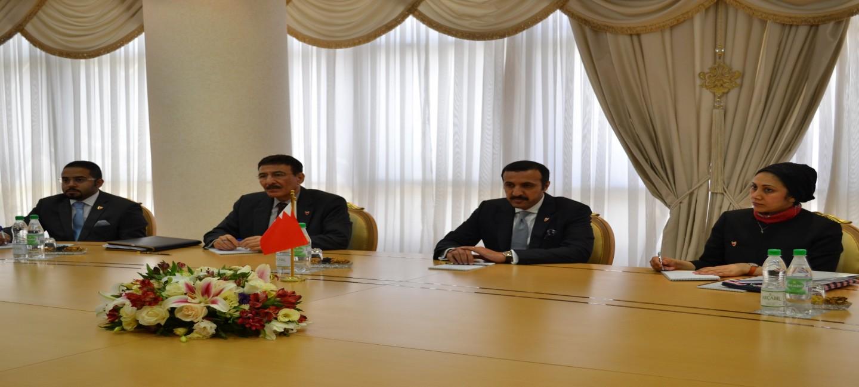 В Ашхабаде состоялись туркмено-бахрейнские политические консультации