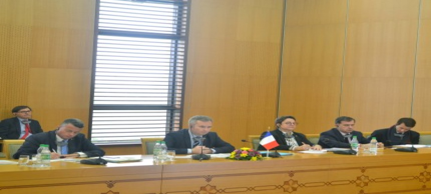 TURKMEN-FRENCH POLITICAL CONSULTATIONS WERE HELD IN THE MINISTRY OF FOREIGN AFFAIRS OF TURKMENISTAN