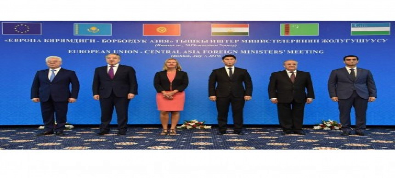 Делегация Туркменистана приняла участие во встрече руководителей внешнеполитических ведомств ЕС и стран Центральной Азии