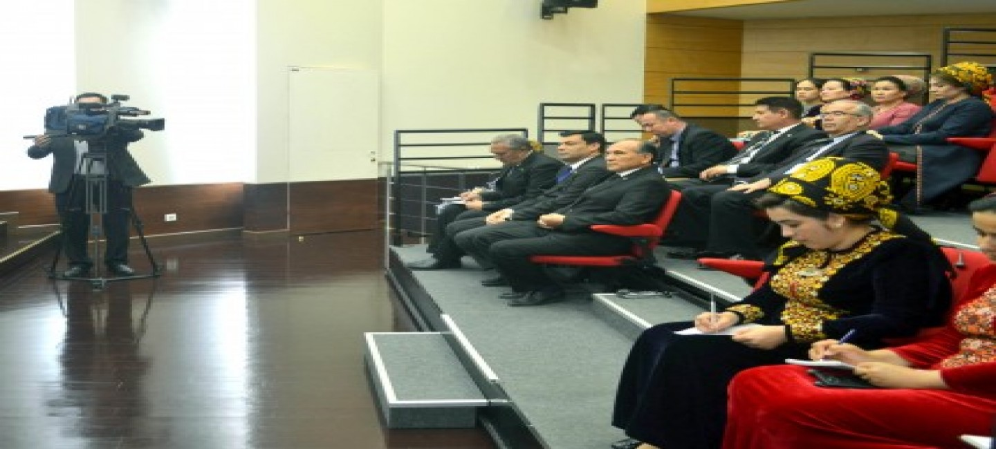 BRIEFING ON THE FOREIGN POLITICAL COURSE OF THE PRESIDENT OF TURKMENISTAN