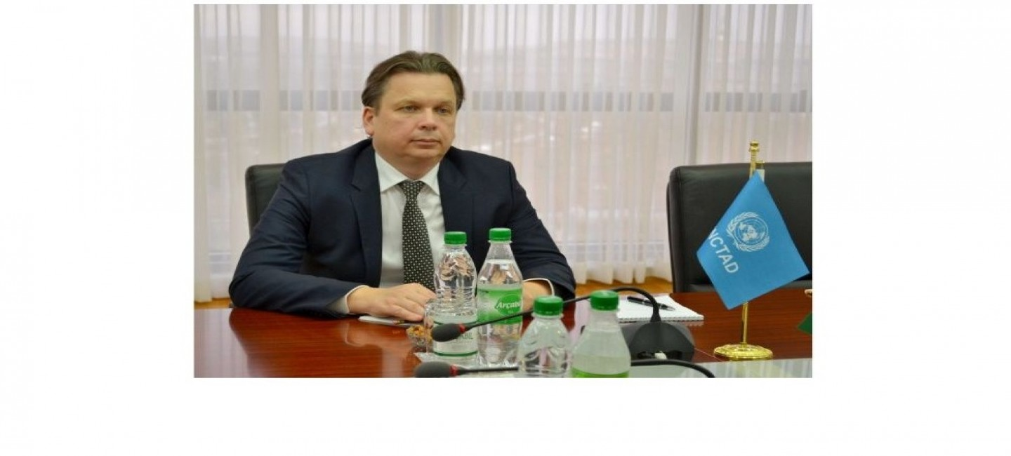 DEVELOPMENT OF COOPERATION BETWEEN TURKMENISTAN AND THE UNITED NATIONS CONFERENCE ON TRADE AND DEVELOPMENT DISCUSSED IN THE MFA OF TURKMENISTAN