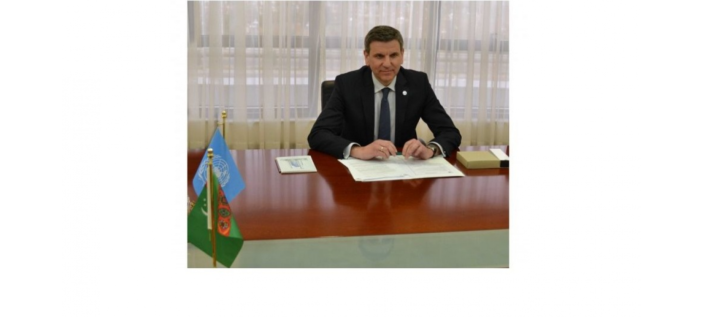 TURKMENISTAN ADHERES TO COOPERATION WITH THE FOOD AND AGRICULTURE ORGANIZATION OF THE UNITED NATIONS